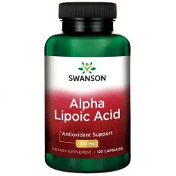 Alpha Lipoic Acid 300 mg 120 capsules