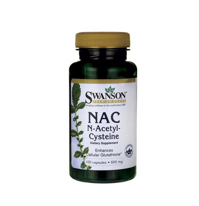 N Acetyl Cysteine NAC 600 mg 100 capsules