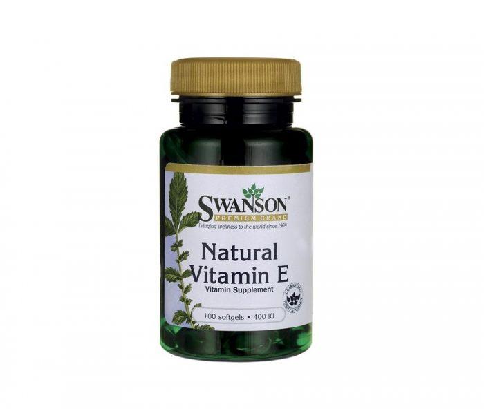 Natural Vitamin E 400 iu 100 softgels