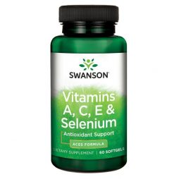 Vitamin A, C, E and Selenium 60 softgels