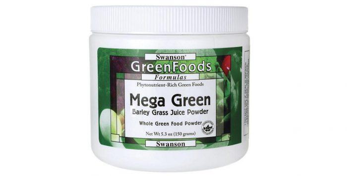 Mega Green Barley Grass Juice Powder 150 grams