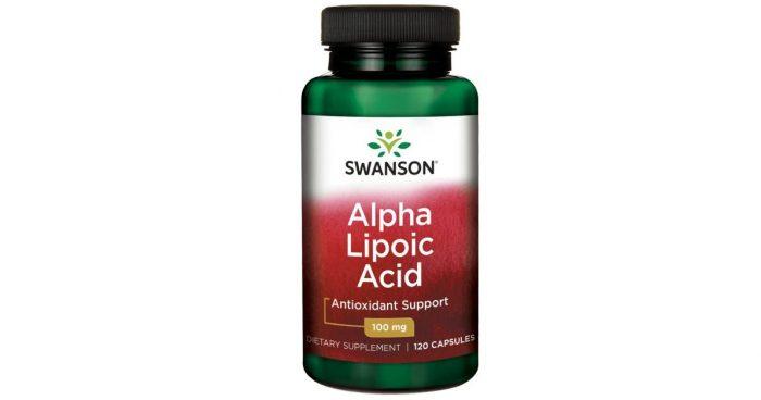 Alpha Lipoic Acid 100 mg 120 capsules