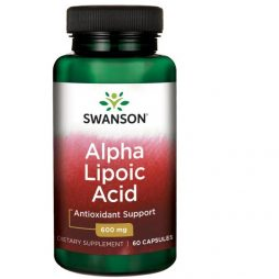 Alpha Lipoic Acid ALA 600 mg 60 caps