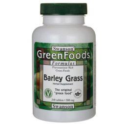 Swanson Barley Grass 500mg 240 tabs