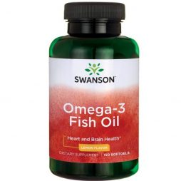 Swanson Omega 3 Fish Oil 150 softgels