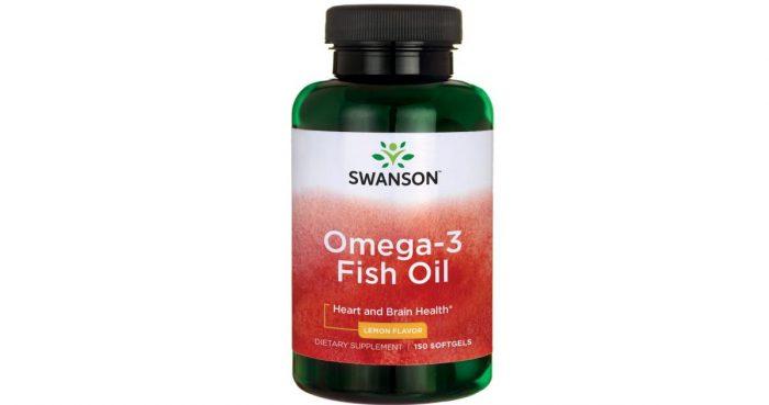Swanson Omega 3 Fish Oil 150 softgels