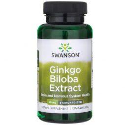 Swanson Ginkgo Biloba 60 mg 120 capsules