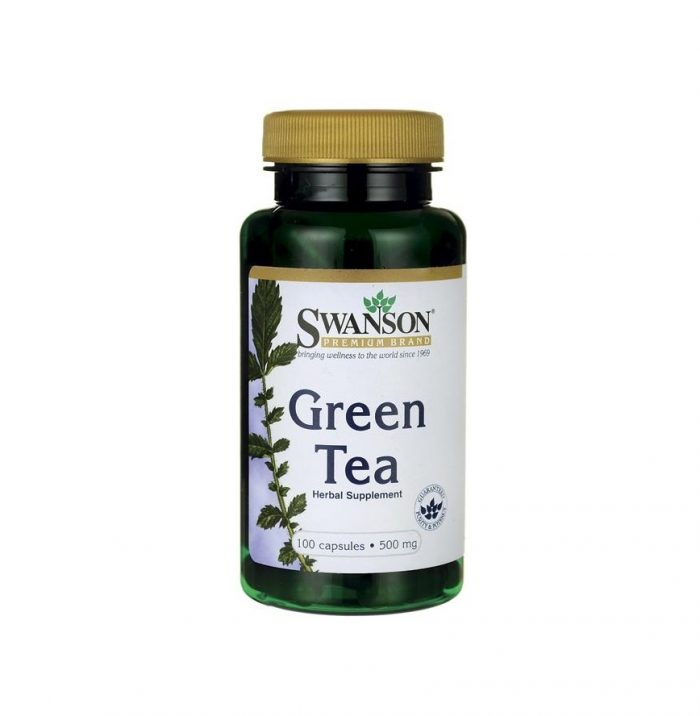 Swanson Green Tea 500 mg 100 capsules