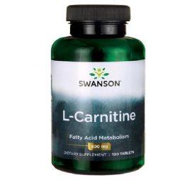 Swanson L-Carnitine 500 mg 100 tabs