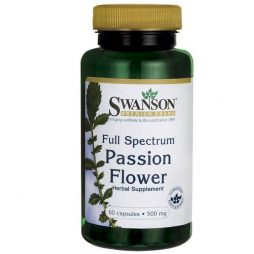 Swanson Passion Flower 500 mg 60 caps