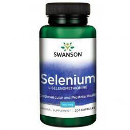 Swanson Selenium 100 mcg 200 caps