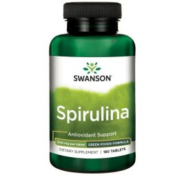 Spirulina 500 mg 180 tablets