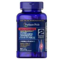 Puritan's Pride Triple Strength Glucosamine Chondroitin 80 tabs