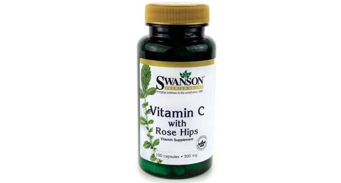 Vitamin C with Rosehips 500 mg 100 caps