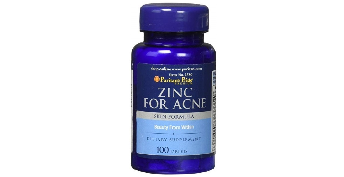 Zinc for Acne 100 tablets - Avery Store Philippines