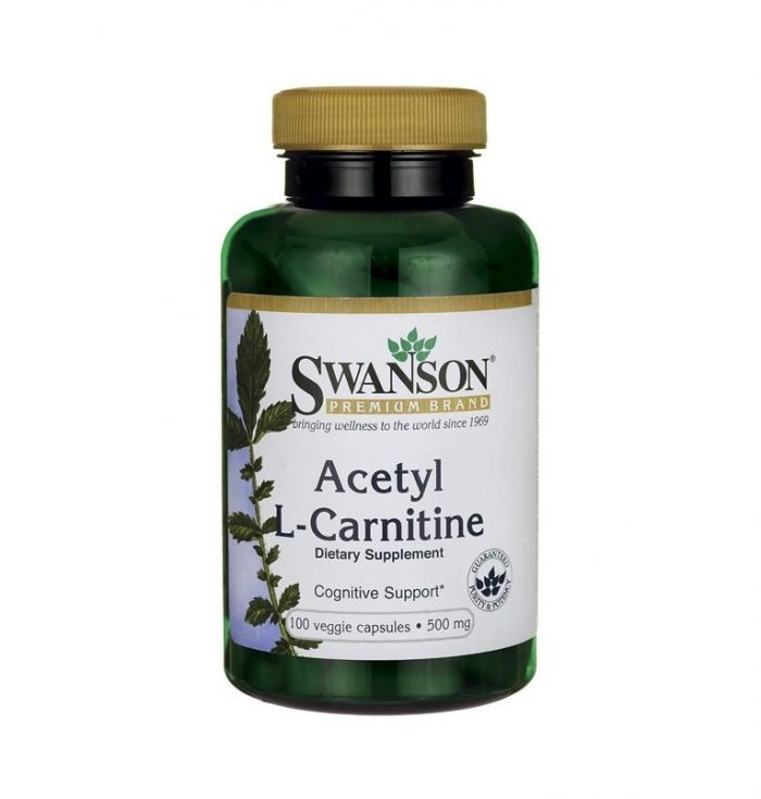Acetyl L-Carnitine 500 mg 100 caps
