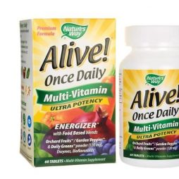 Alive Once Daily Ultra Potency 60 tabs