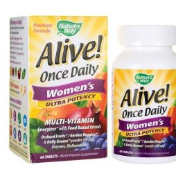 Alive Once Daily Women's Ultra Potency 60 tabs