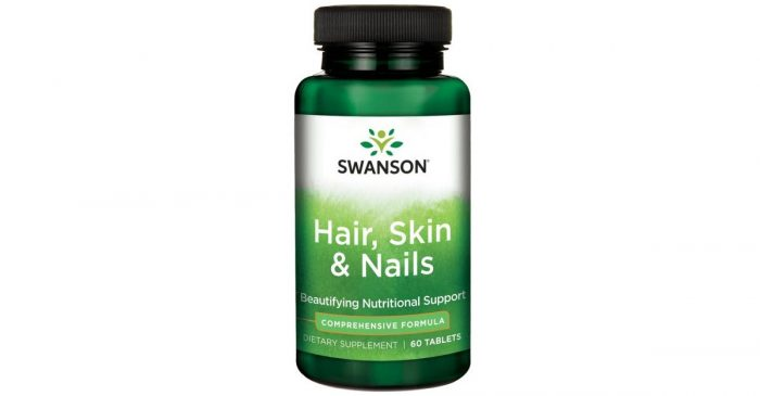Swanson Vitamin Hair Skin Nails 60 capsules