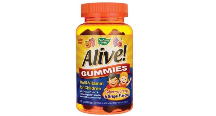 Natures Way Alive Children's Multi-Vitamin 90 Gummies