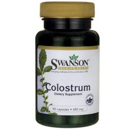 Swanson Premium Colostrum 480 mg 60 capsules