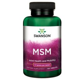 Swanson MSM 1500mg 120 tablets