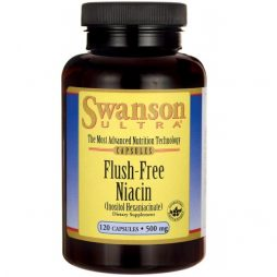 Swanson Flush Free Niacin 500 mg 120 caps