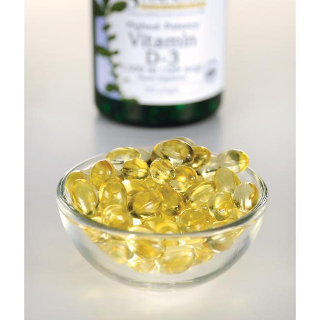 High Potency Vitamin D-3 5000IU 250 softgels