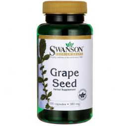 Swanson Grapeseed 380 mg 100 capsules