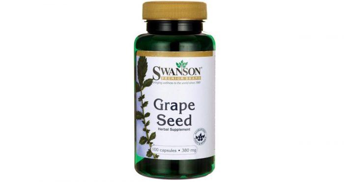 Swanson Grapeseed 380 mg 100 capsules