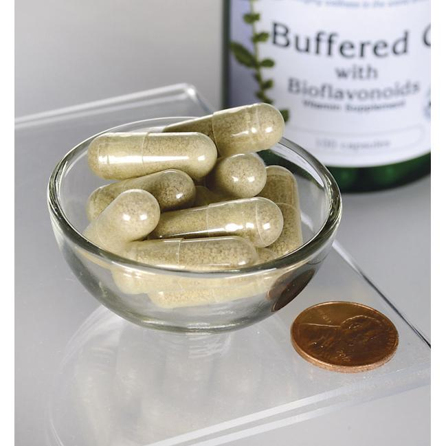 Buffered C with Calcium and Bioflavonoids 500 mg 100 tabs