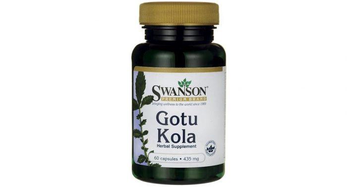 Swanson Gotu Kola 435 mg 60 capsules