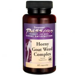 Swanson Horny Goat Weed Complex 60 caps