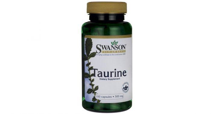 Swanson Taurine 500 mg 100 caps