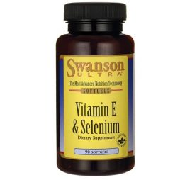 Natural Vitamin E 400 IU with Selenium 90sgls