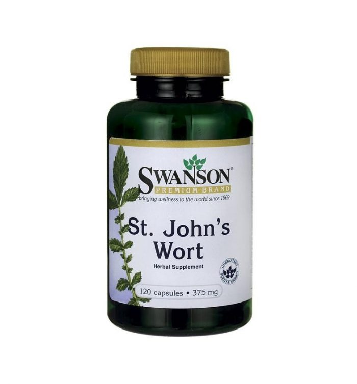 Swanson St John's Wort 375 mg 120 capsules