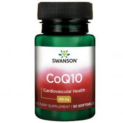 Swanson CoQ10 100 mg 50 softgels