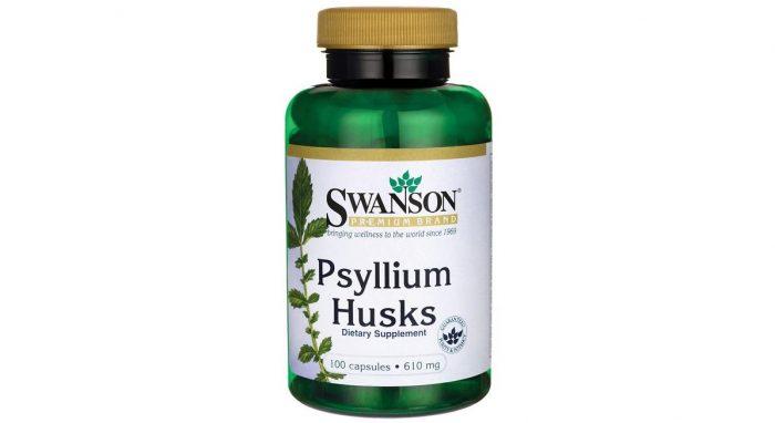 Swanson Psyllium Husk 610 mg 100 caps