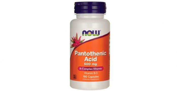Pantothenic Acid B-Complex 500 mg 100 caps