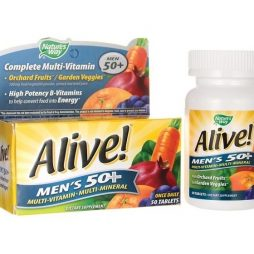 Alive Men's 50+ Multivitamin Multimineral 50 tabs