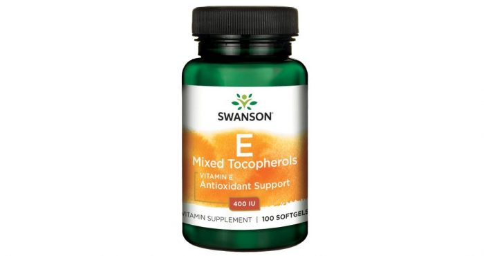 Natural Vitamin E Mixed Tocopherols 400 IU 100 softgels
