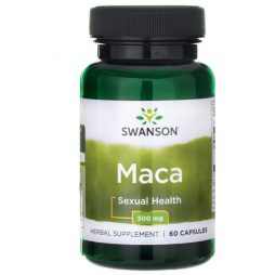 Swanson Maca Root 500 mg 60 caps
