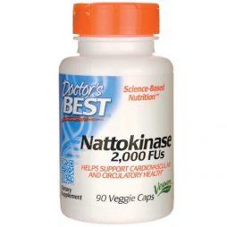 Dr Best Nattokinase 2000 FU 90 vcaps
