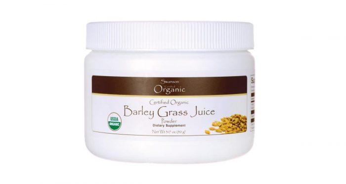 Swanson Organic Barley Juice Powder 90 grams