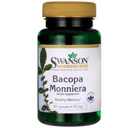 Swanson Bacopa Monniera Extract 50 mg 90 caps