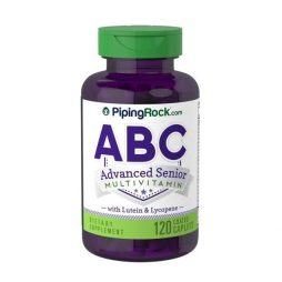 ABC Senior with lutein and Lycopene 120 caps