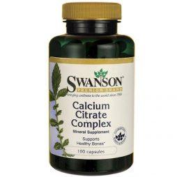 Swanson Calcium Citrate Complex 100 caps