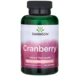 Swanson Premium Cranberry 180 softgels
