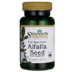 Swanson Alfalfa Seed 400 mg 60 caps