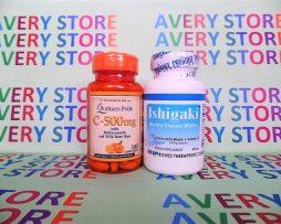 Ishigaki Amino Classic White with Vitamin C Rosehips 500 mg